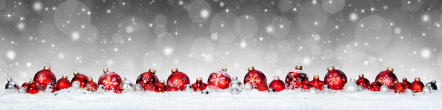 Christmas Bauble Banner