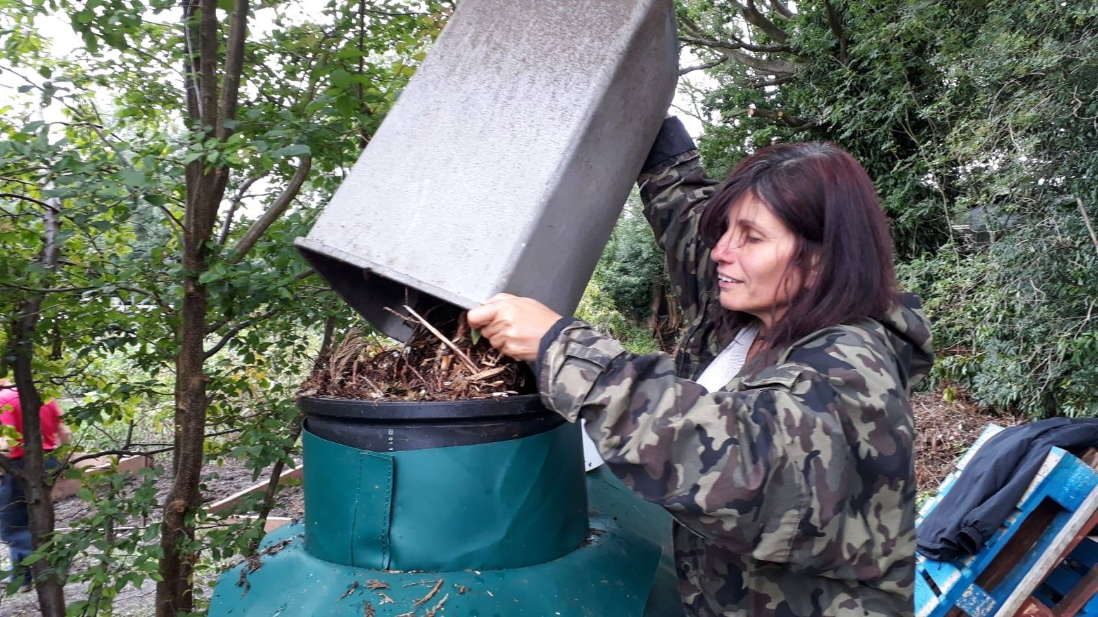 Feeding the Composter