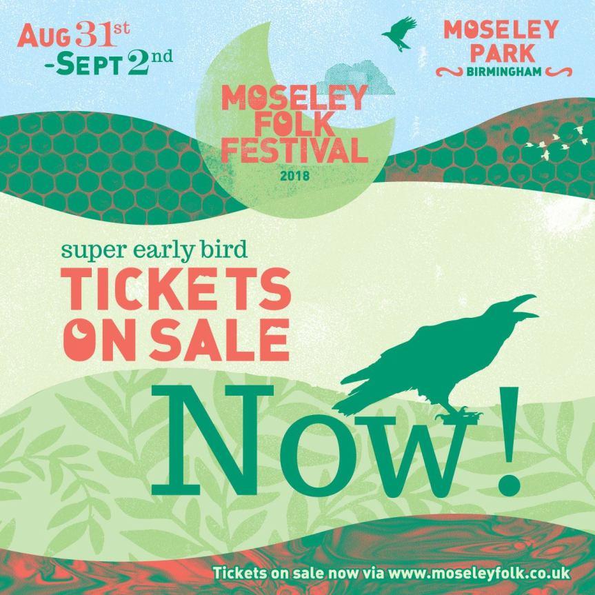 moseley folk tickets